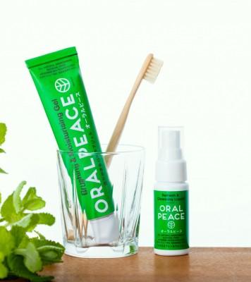 飲んでも(誤嚥しても)安全。天然由来の歯磨き粉「オーラルピース」で、誰でも安心して口腔ケアを行える